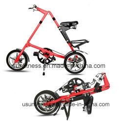 Estrutura em liga de alumínio de disco de freio Aluguer de bicicleta dobrável Scooter da cidade para adultos e alunos