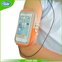 Sacchetto universale del braccio di sport del neoprene, cassa del bracciale di sport del telefono mobile con il supporto chiave