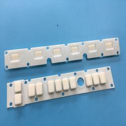 На заводе для изготовителей оборудования индивидуального высокая точность резиновую кнопку силиконового герметика токопроводящие двойной жесткости клавиатур