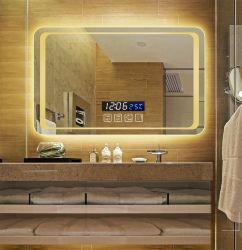 ذكيّة بنية مرآة [تووش سكرين] [لد] غرفة حمّام مرآة [ولّ هنغ] غرفة حمّام مرحاض [أنتي-فوغ] مع [بلوتووث] خفيفة