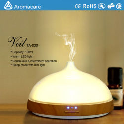 Novo 100ml Aroma umidificação com modo de Bebé do sono (TA-030)