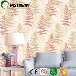 部屋の装飾のための葉パターンが付いている装飾的な壁ペーパー