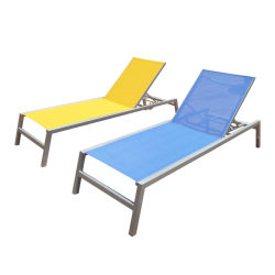 Haute qualité Patio Jardin meubles de piscine de plein air Lounge Chaise Sun Ben Transats Transats plage mentir lit chaise longue