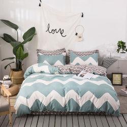 Домашний текстиль 100 % пуховым одеялом из микрофибры, 70-120GSM пользовательских печатных ткань из микроволокна покрывалами и кровати для взрослых,