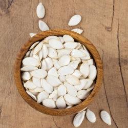 Halalの証明書の中国の新しい穀物の雪の白いカボチャシード9cm、11cm、12cm、13cm、14cmの15cm卸し売り中国の未加工カボチャシード