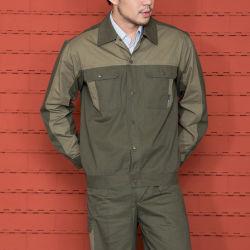 Uniforme de travail industrielle 100% coton uniformes Vêtements de travail de construction Mécanicien unisexe Fédération Miner Femmes Hommes Vêtements de travail