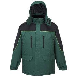 Roupas de inverno de vestuário de segurança dos homens Jaqueta Casual almofadado