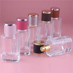 40ml Tapa de cristal Color Spray Perfume recargables botellas vacías de vidrio Contenedor de cosméticos para los viajes