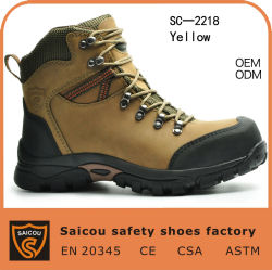 China conforto de alta qualidade e a convergência de aço caminhadas Calçado e homens trabalhando Calçados e fábrica de inicialização SC-2218 de segurança