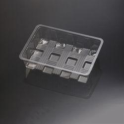 OEM cakies desechables paquete bandeja claro blister comida (blister PP)