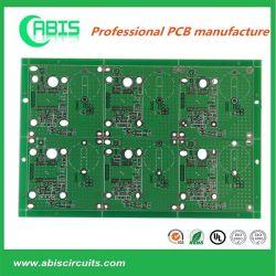 Carte de circuit imprimé double face avec les circuits d'épaisseur 1,6 mm (deux producteurs de base)