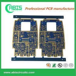 Синие чернила PCB, электрические жесткого слоя печатной платы