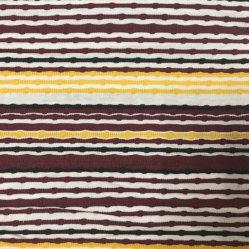 modales Garn-gefärbtes Streifen-Gewebe der Baumwolle185gsm mit für Kleidung