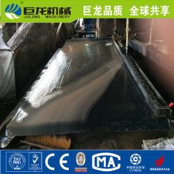 Machine d'exploitation minière de séparation par gravité populaire de minerai de secouer la table de l'oxyde de minerai de chrome, l'antimoine, étain