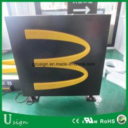 Personnalisé vide en plein air de l'acrylique lumineux à LED Panneau publicitaire