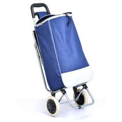 접이식 의자가 있는 쇼핑 가방