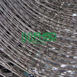 Boucle de la Croix de la bobine ou en acier inoxydable trempé galvanisé à chaud Bto Sharp concertina Clips barbelés de lame de rasoir le grillage de séparation