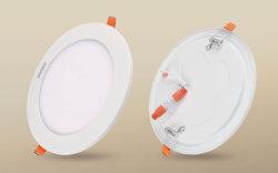 Ultra Slim 15W panneau LED encastré ronde Matériau en alliage léger avec Anti 15W Cuisine Lumière stroboscopique