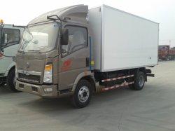 Sinotruck HOWO 4X2 5-10t refrigeración refrigerador/congelador camión refrigerado