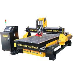 L'Équipement menuiserie 1325 CNC Router Machine de découpe de bois avec appareil rotatif