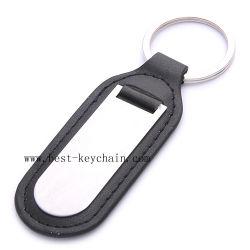 Promoção PU Metal e porta-chaves em pele genuína (BK20860A)