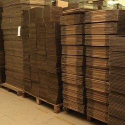 Kundenspezifische große Großhandelsfalte, die gewellten verpackenkasten-Papierkarton verschiebt