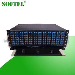 144 núcleos de fibra óptica para montagem em rack 4U ODF da estrutura de distribuição
