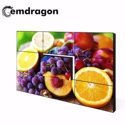 شاشة LCD ذات إطار رفيع جدًا مزودة بحائط الفيديو الذي يعمل باللمس بحجم 46 بوصة مشغل أقراص DVD محمول بوصة شاشة LCD عالية الدقة كلياً اللاعب