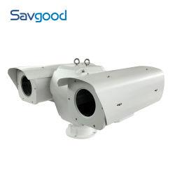 I sensori doppi hanno motorizzato la macchina fotografica della rete PTZ di alta precisione dell'onere gravoso di Bi-Spettro dell'obiettivo