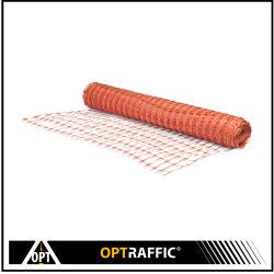Le site de construction d'alimentation orange sécurité Barricade pour l'avertissement de clôture à mailles