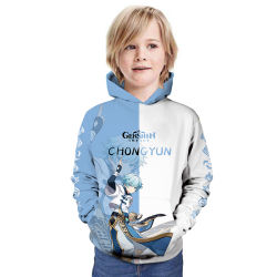 Los niños' S fácil impacto Genshin personalizado impreso en 3D Hoodie D1110)