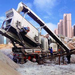 Nuovo sistema ISO CE approvato impianti completi di frantumazione di cava, frantumatore di paglia di granito calcareo, prezzo di fabbrica impianto di frantumazione di pietra mobile di roccia aggregata