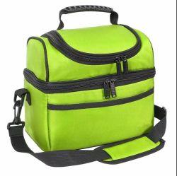 Sacchetto di Tote isolato adulto del dispositivo di raffreddamento del sacchetto del pranzo della casella di pranzo grande per gli uomini, donne, doppio dispositivo di raffreddamento della piattaforma