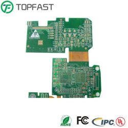 Высокое качество многоуровневые гибкие PCB Rigid-Flex печатной плате цепи производства