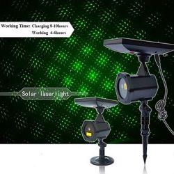 مسيكة شمسيّة ليزر منظر طبيعيّ مصباح كشّاف ضوء