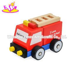 2020の卸売子供W04A507のための就学前の木車の構築の一定のおもちゃ