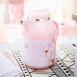 1 لتر حراري آلة البيروكلاتور العربية ملصق معدني صغير تفريغ وعاء القهوة