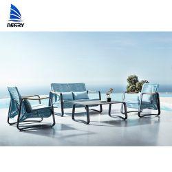 現代3部分のテラスの一定の屋外のソファーの一定の屋外の家具