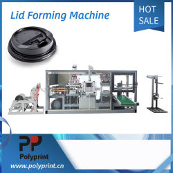 Milch-Tee-System-Plastikkappe mit Loch Thermoforming Maschine