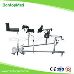 مستشفى الفولاذ المقاوم للصدأ جراحة هيدروليكية متعددة الوظائف معدات جراحة العظام السحب أساس الإطار لسير التشغيل