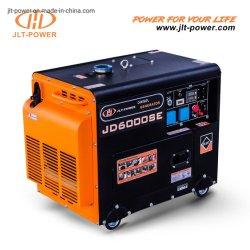 طاقة JLT AC أحادية الطور 5 كيلو واط سعر المولد 5 كيلو فولت أمبير مفتاح بدء تشغيل مولد الطاقة المتنقل الذي يعمل بالديزل الكهربائي الصامت