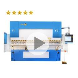 ديليم أو إيستون الكهربائية الأوتوماتيكية 3 4 6 8 المحور مقياس خلفي لوح معدني من الألومنيوم ورقة من الفولاذ ضغط CNC هيدروليكي Brake الانحناء آلة السعر للبيع