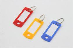 عظيم علامة مميّزة بطاقة بالجملة, [كي تغ] بلاستيكيّة مع شقّ حلقة تثبيت