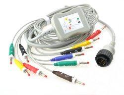 Kenz PC 104 10 كبل EKG ذو 10 أسلاك