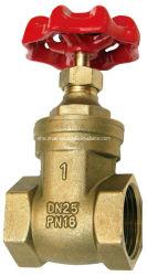 Válvula de compuerta de latón -