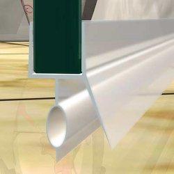PVC BK-Form 1000mm Länge für 10mm Glas Duschtür Wasser Dichtung