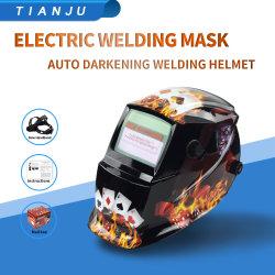 MMA soldadores de MIG Solar Facial completa de oscurecimiento automático de protección de la máscara de soldadura casco