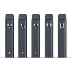 새로운 2mL CBD 펜 세라믹 코일 일회용 기화기 도착 POD 시스템 하단 USB 충전