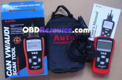 OBD+VAG 2-в-1 сканер штрихкодов