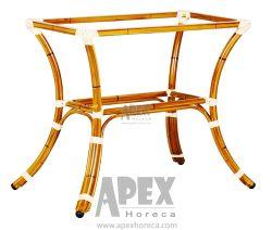 Rectangle look bambou Base de table (AB2140B)